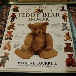 Other - Collectible hardcover copy teddy bear book